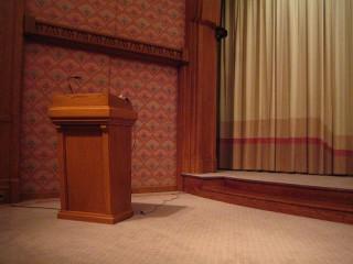 Public Speaking Podium - Institute of Public Speaking