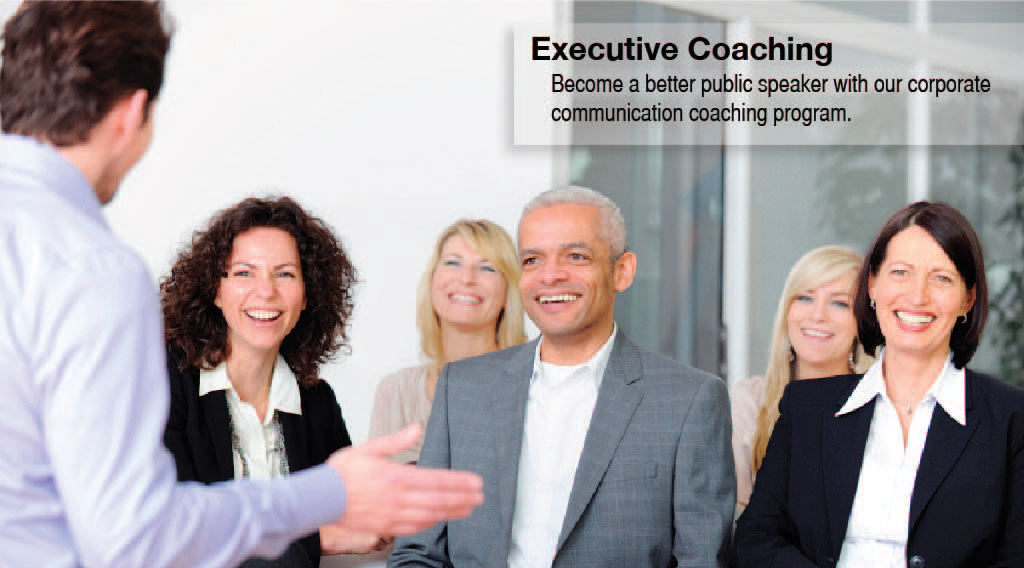 Executive Speech Coaching - Master the skills of speaking effectively.