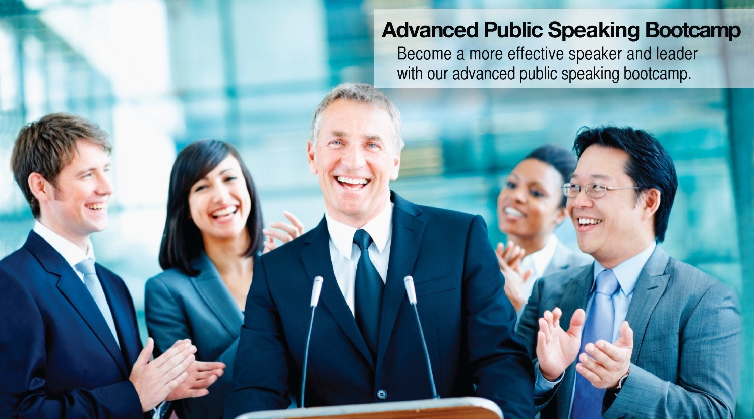 Advanced Public Speaking Training Bootcamp -Advanced hands-on public speaking training.