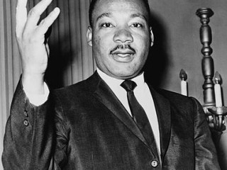 Martin Luther King - One of the best public speakers and leaders the world has ever known.