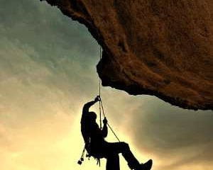 Habit of Perseverance - Never Give Up Climber